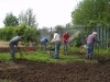 Work on the Scout garden May 2009