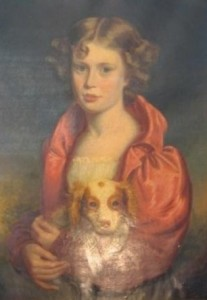 William's wife, Louisa Harding (nee Burcham), as a young girl